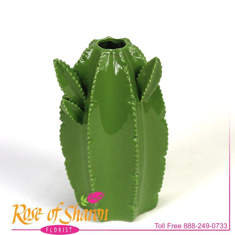 2925 Cactus Vase Image Two