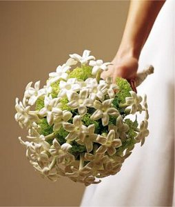 Image of 10046 Ivory Wedding Bouquet