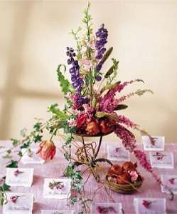 Image of 10052 Be Our Guest Card Table Arrangement