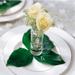 Image of 10058 Rose Charm Table Accessory