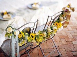 Image of 10059 Side-by-Side Chair Garland