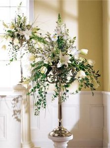 Image of 10067 Loving Embrace Altar Arrangement