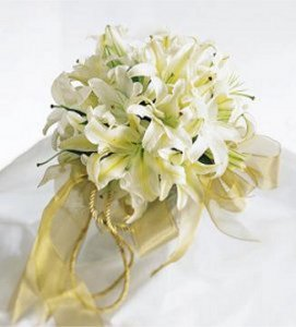 Image of 10091 Flower Girl Basket