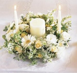 Image of 10098 Worldwide Romance Unity candle Arrangement