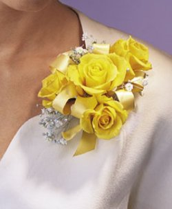 Image of 10678 Rose Corsage