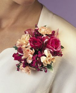 Image of 10680 Rose Corsage