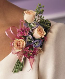 Image of 10697 Rose Corsage