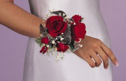 Image of 10701 Rose Wrist Corsage