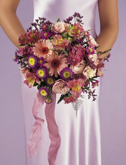 Image of 10747 Bridesmaids Bouquet