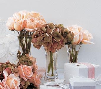 Sweet Visions Crystal Vase Trio