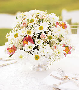 Image of 10857 Daisy Joy Centerpiece